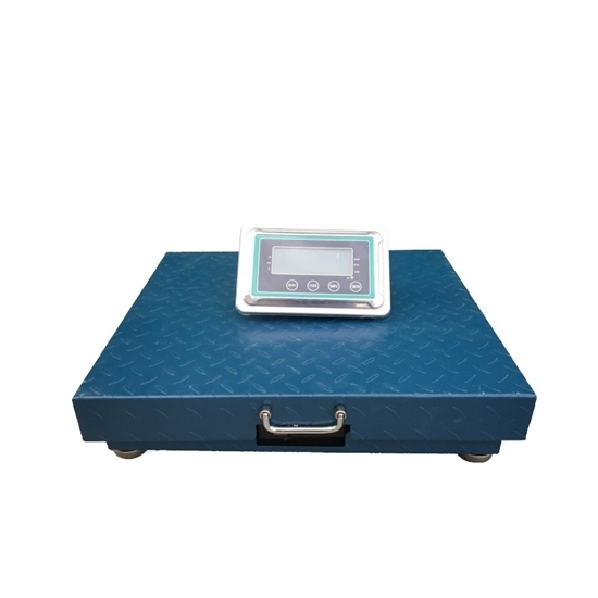 500kg Wireless Industrial Heavy Duty Scales (63x53cm)