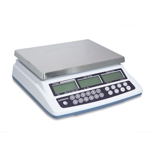 30kg Retail Pricing Weighing Scales - NZ Trade Approved