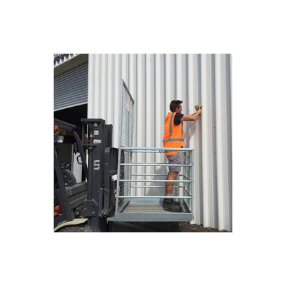 Arrow Forklift Access Safety Cage
