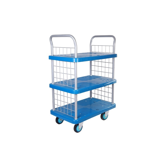 Arrow Warehousing 3 Tier - Hand Platform Trolley Cart