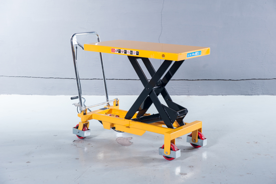 Picture of Mobile Hydraulic Scissor Lifter Platform Trolley 300kg