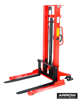 Picture of Hydraulic Hand Stacker Truck (Straddle) 1.6 meter